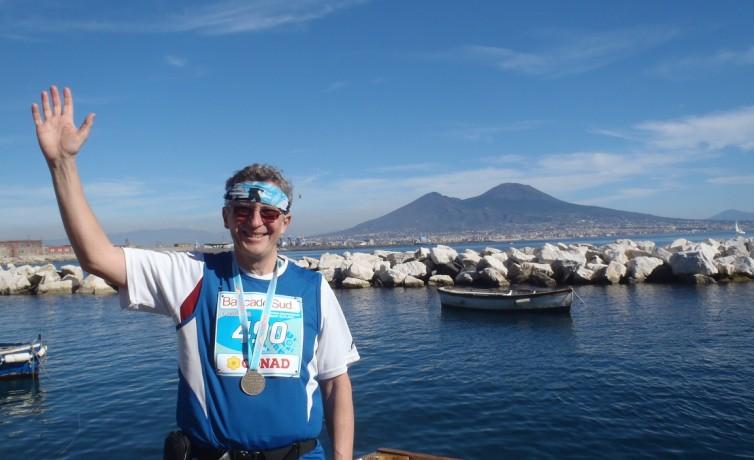 Môj 15. maratón, Neapol, február 2014