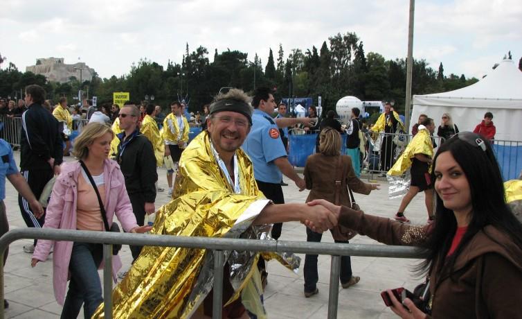 Prvý maratón, Atény, november 2008 (3)