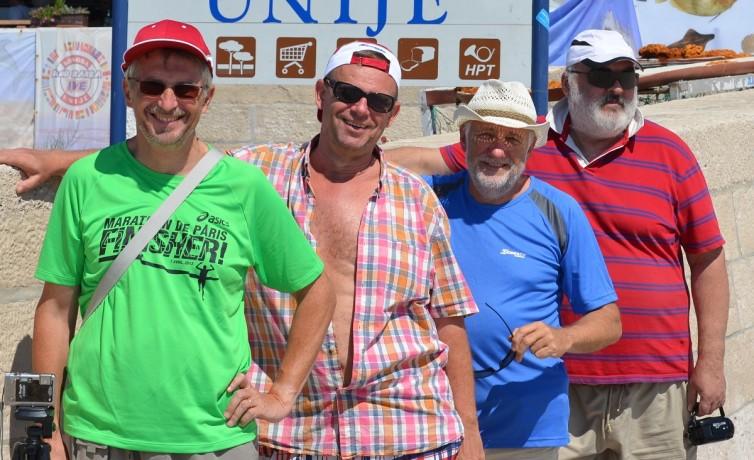 Dovolenka s priateľmi na ostrove Unije, august 2013